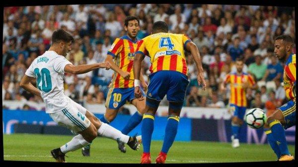 Le Real Madrid tenu en échec par Valence (2-2)