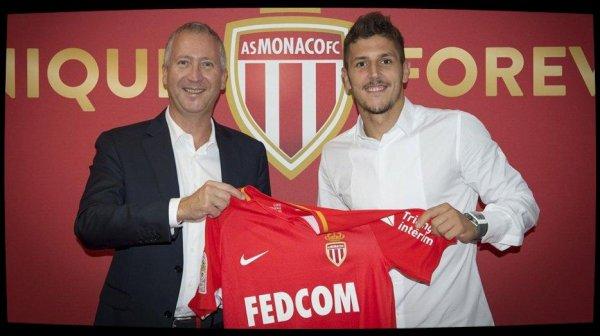 Stevan Jovetic signe à Monaco