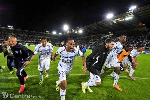 Auxerre se maintien en Ligue 2