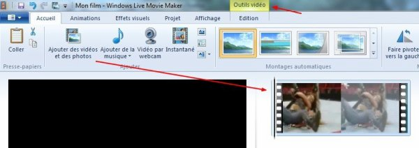 Faire une vidéo avec Windows Live Movie Maker - Partie 2