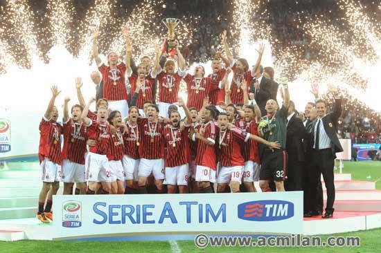 CHAMPION D'ITALIE!!!!!!!!!! FORZA MILAN!!!!!