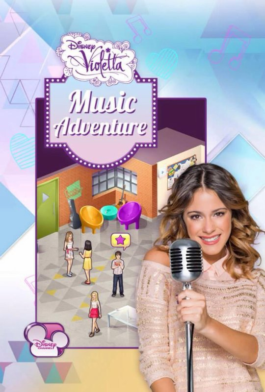 application violetta music adventure