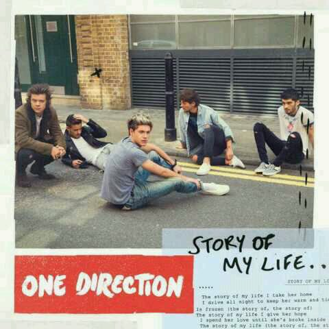 "Nouveaux single des boys qui s'apellera ""Story of my life"""