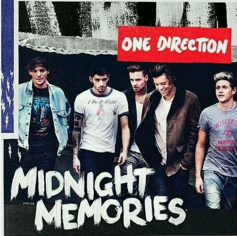 Voila la pochette de Midnight Mermories !!