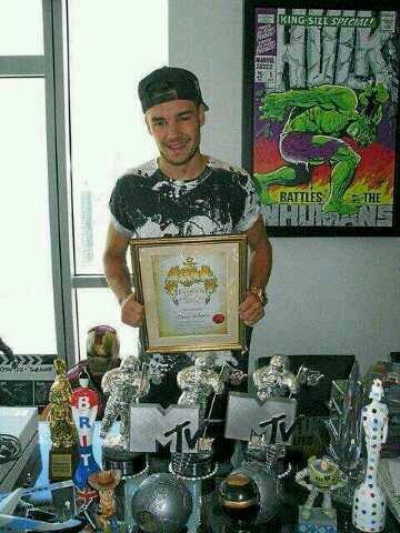 Liam et ses prix