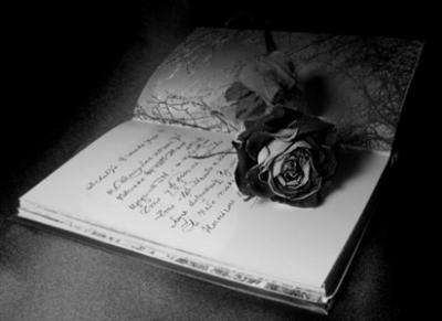 """""""Mes livres ne sont pas des livres, mais des feuilles détachées et tombées presque au hasard sur la route de ma vie."""" F.R"""