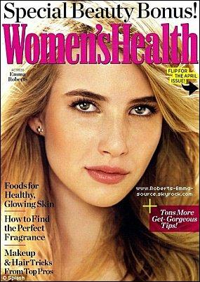 Emma en couverture de Women's Health !