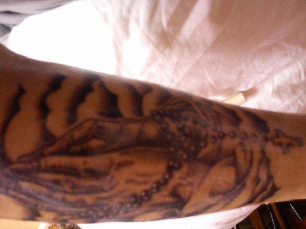 Mais nouveau tatouage fait le 16/11/13