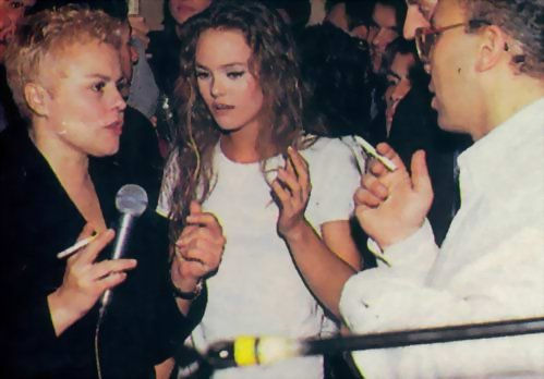 PHOTO : Muriel Robin & Vanessa Paradis.
