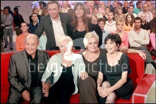 """Passage TV : Un """"Vivement Dimanche Spécial Fugueuses"""" Le 30 Septembre 2007."""