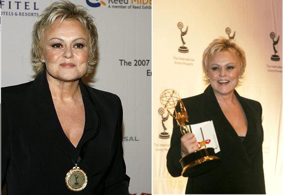 NEWS : Muriel Robin remporte l'Emmy Award 2007 à New-York.