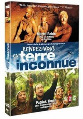 """DVD : """" Rendez-Vous en terre Inconnue """" avec Muriel Robin et Patrick Timist."""