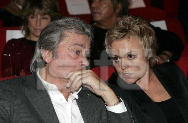 PHOTOS : Muriel Robin & Alain Delon