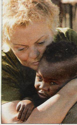 PHOTOS : Muriel Robin en Namibie (2006)