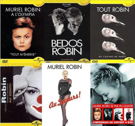 AFFICHES : Spectacles de Muriel Robin.