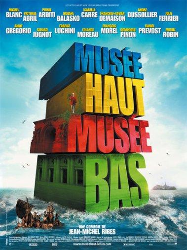 """FILM : """"Musée Haut, Musée Bas"""", le 19 Novembre 2008 au Cinéma."""