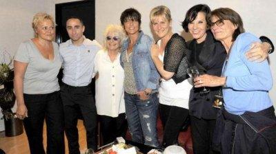NEWS : Muriel Robin assiste au concert de Catherine Lara.