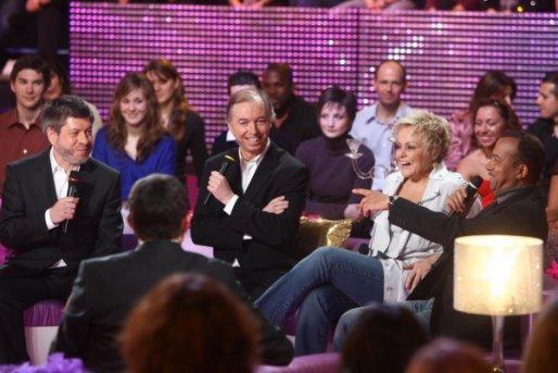 """Passage TV - Muriel Robin invitée à l'émission """"2 heures de rire"""", samedi 15 mai sur TF1."""