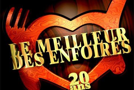 """Passage TV  : """"Le Meilleur des Enfoirés, 20 Ans"""", Vendredi 10 Décembre sur TF1."""