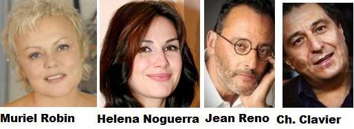 NEWS : Projets de Muriel Robin pour 2011