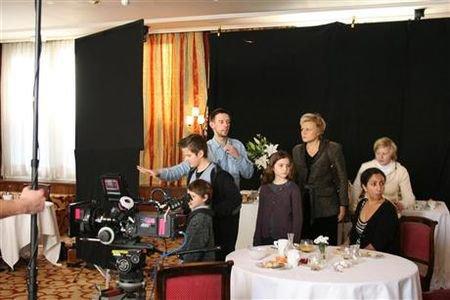 """NEWS : Muriel Robin tourne en ce moment """"Le Paradis des Bêtes"""", un film d'Estelle Larrivaz."""