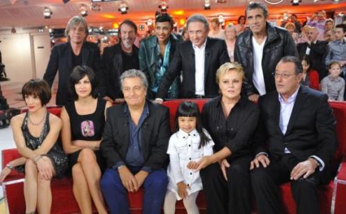"""Evènement : J'ai assisté au """"Vivement Dimanche"""" consacrée à Christian Clavier avec Muriel Robin, Jean Reno et Héléna Noguerra."""
