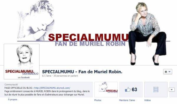 """NEWS : Rejoignez la PAGE FACEBOOK ou/et le COMPTE FACEBOOK du blog """"SPECIALMUMU"""" !!"""