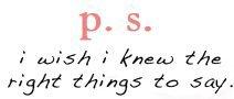 Wie oft einem erst hinterher die genialsten Sätze einfallen...