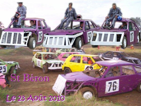 Course de Fun cars club de St Béron, neuvième course de l'année 2010