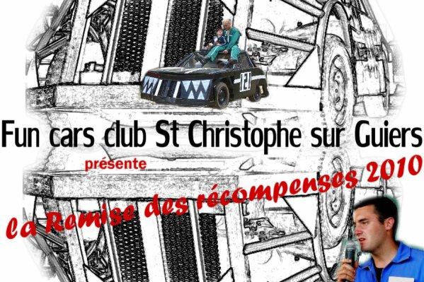 Classement du championnat de France de Fun cars 2010