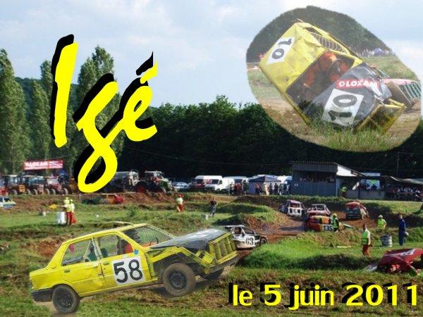 Course du rodéo cars igéen, première course de l'année 2011