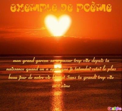Poeme Pour Mon Fils Que Jaime Plus Que Ts O Monde Blog De