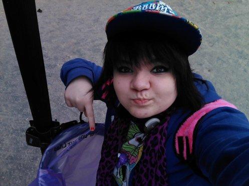 A Romainville,j'ai vu un sac poubelle mauve. Il fallait faire une photo. C'était O.B.L.I.G.E !