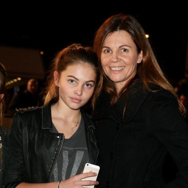 Thylane Blondiau et sa mère!!!!