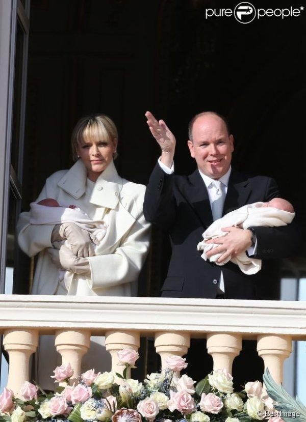 Présentation des jumeaux princier de Monaco!!!