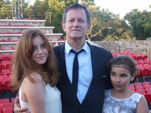 Francis huster et ses filles!!!