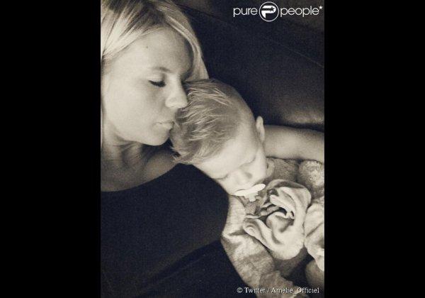 Amélie Neten et son fils Hugo !!!