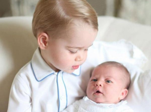 George et Charlotte de Cambridge !!!