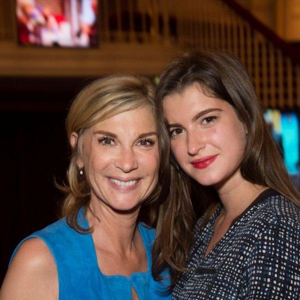 Michele Laroque et sa fille Orianne !!