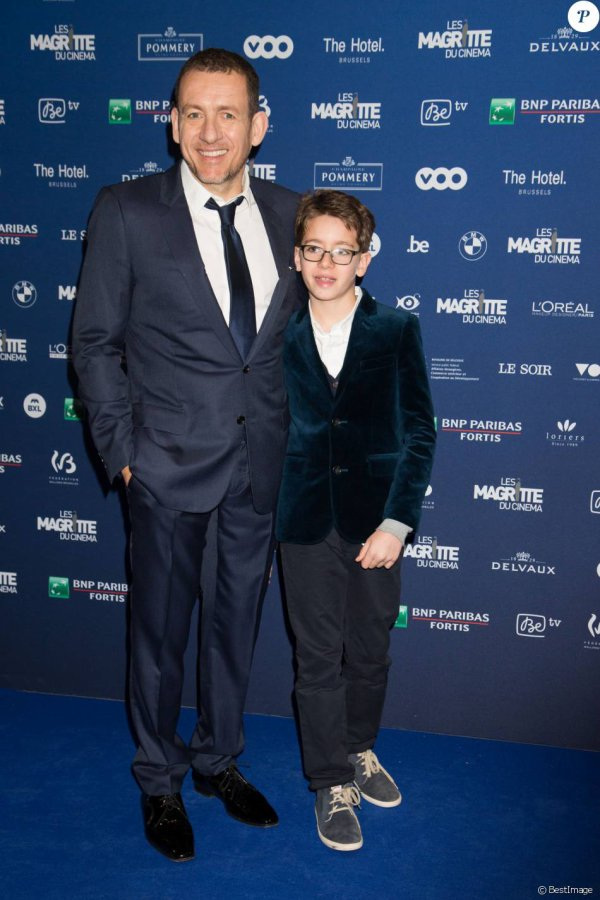 Danny Boon et son fils Eythan