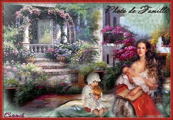 (l) (l) PHOTOS DE FAMILLE EN PEINTURE (l) (l)