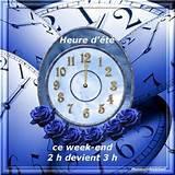(l) (l) BON WEEK-END AVEC CHANGEMENT D'HEURE (l) (l)
