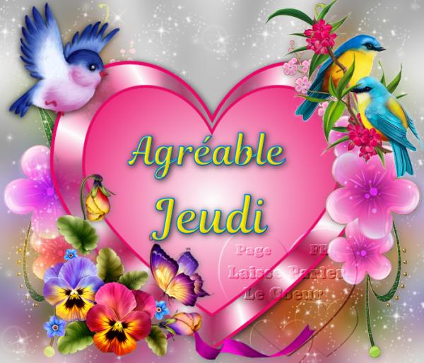 (l) (l) AGREABLE JEUDI (l) (l)