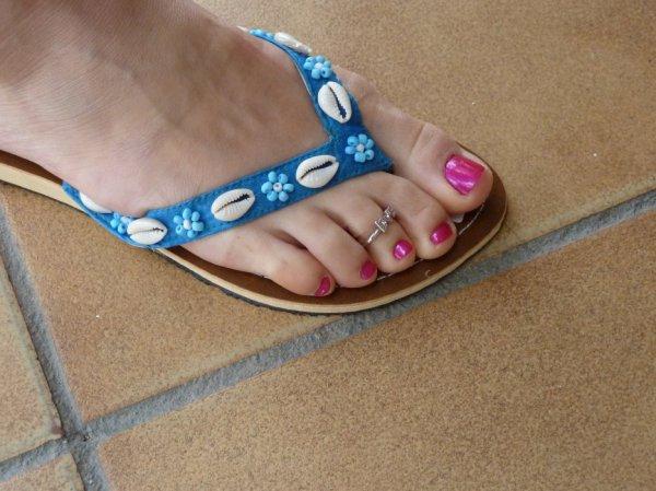"""Une serie de jolie petons ( Toe Ring ) du Blog de """"petonssplendides"""" 4"""