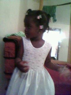 Ma cousine Grace le  fille  de ma tata Miriam