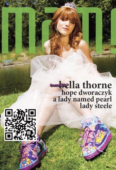 Bella fait la couverture du magazine Mami été 2011. Le photoshoot est juste magnifique.