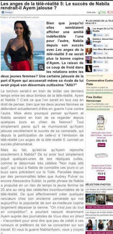Ayem Jalouse de Nabilla