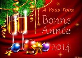 Je vous souhaite une joyeuse annee 2014 !!
