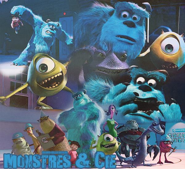Walt Disney n°64 : Monstres & Cie (2001)