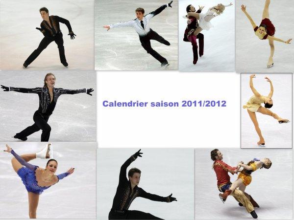 Calendrier 2011/2012